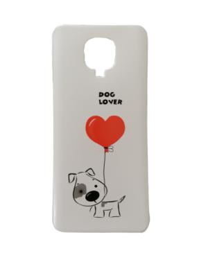 Silikónové puzdro na Xiaomi Redmi Note 9 psík