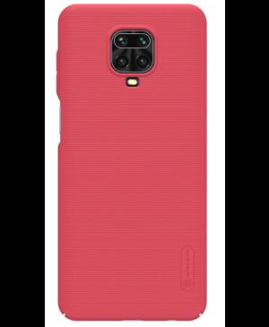 Nillkin Super Frosted Zadný Kryt pre Xiaomi Redmi Note 9 PRO/PRO MAX/9S červený