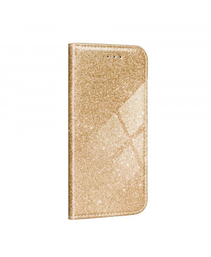 Diárové puzdro na Samsung Galaxy A02s Forcell SHINING zlaté