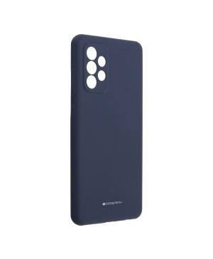 Silikónové puzdro na Samsung Galaxy A72/A72 5G Mercury Silicone modré