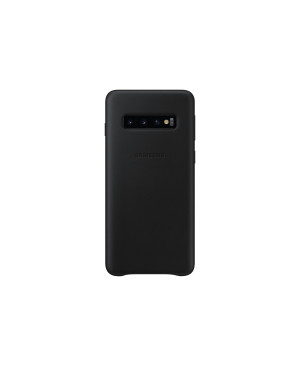 EF-VG973LBE Samsung Leather Cover Black pro G973 Galaxy S10 (EU Blister)