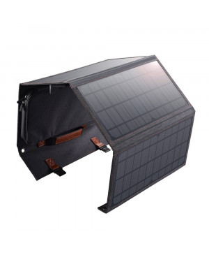 Solárna nabíjačka Solar Panel Choetech SC006 36 W USB-A/USB-C sivá