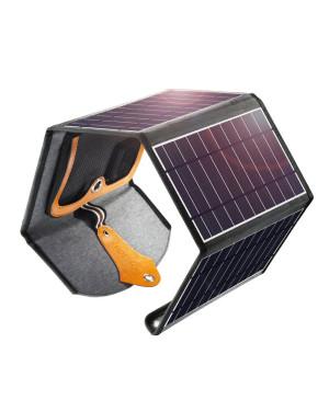 Solárna nabíjačka Solar Panel Choetech SC005 22 W 2x USB 5 V čierna