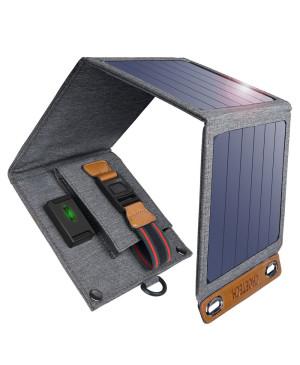 Solárna nabíjačka Solar Panel Choetech 14 W USB 2.4 A sivá