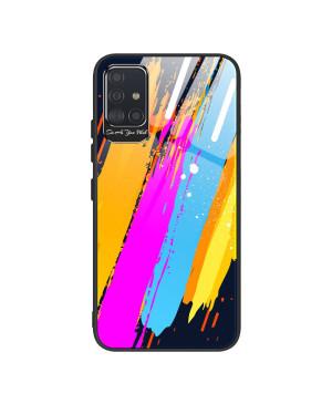 Puzdro pre Apple iPhone XR Color Glass TPU s tvrdeným sklom na zadnej strane a ochranou kamery vzor 3