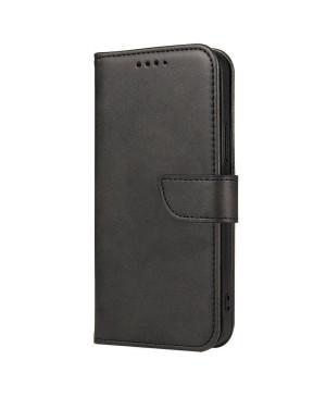 Diárové puzdro na OnePlus Nord N100 Magnet Elegance čierne