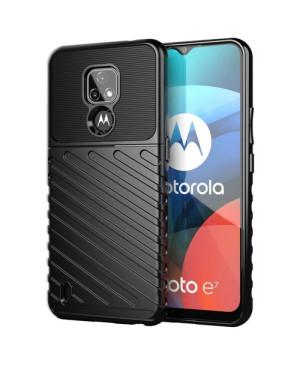 Odolné puzdro na Motorola Moto E7 Thunder čierne