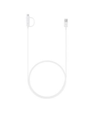 EP-DG930DWE Samsung Combo Type C microUSB Datový Kabel White (Bulk)