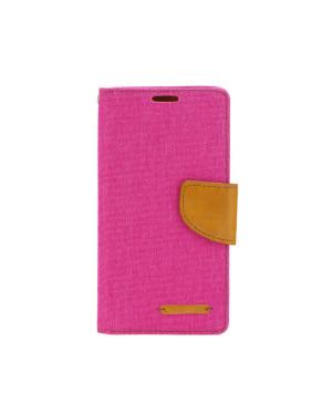 Diárové puzdro Canvas Book pre Samsung Galaxy A51 ružové