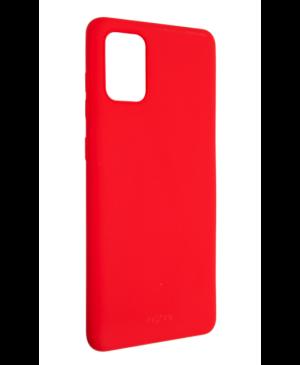 Silikónové puzdro na Samsung Galaxy A71 A715 Fixed Story červené (