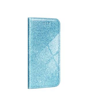 Diárové puzdro na Samsung Galaxy A02s Forcell SHINING modré