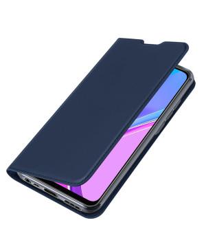 Diárové puzdro na Motorola Moto G9 Play/E7 Plus Dux Ducis Book Skin Pro modré
