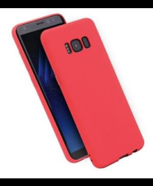 Silikónové puzdro na Motorola Moto E7 Plus/G9 Play Matt TPU červené