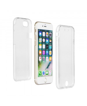 "Silikónové puzdro na Apple iPhone 11 360"" Ultra Slim Front+Back transparentné"