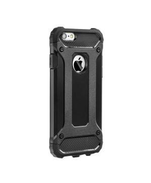 Plastové puzdro Forcell Armor pre Samsung Galaxy A40 čierne