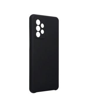 Silikónové puzdro na Samsung Galaxy A52/A52 5G/A52s 5G Forcell Silicone čierne