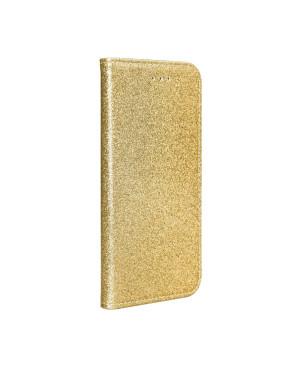 Diárové puzdro na Samsung Galaxy S20 Plus Kabura Shining zlaté