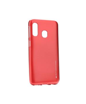 Silikónové puzdro na Samsung Galaxy A20e A202 Mercury i-Jelly červené