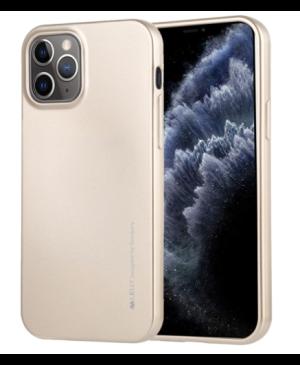 Silikónové puzdro na Apple iPhone 12 mini Mercury i-Jelly zlaté