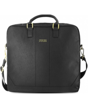 GUCB15TBK Guess Saffiano Look Computer Bag 15 Black