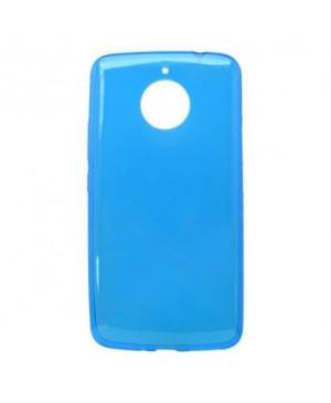 Silikonové puzdro pre MOTO E4 PLUS modré