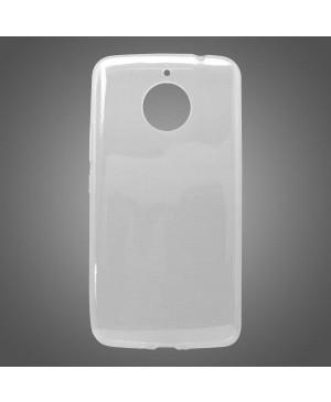 Silikonové puzdro pre  MOTO E4 PLUS,priehľadné