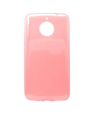 Silikonové puzdro pre  MOTO E4 PLUS, ružové