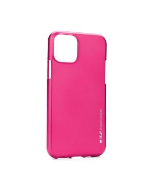 Silikónové puzdro na Apple iPhone 11 Mercury i-Jelly tmavo ružové