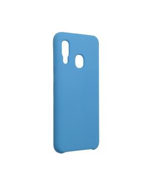 Silikónové puzdro na Samsung Galaxy A20e A202 Forcell Silicone modré