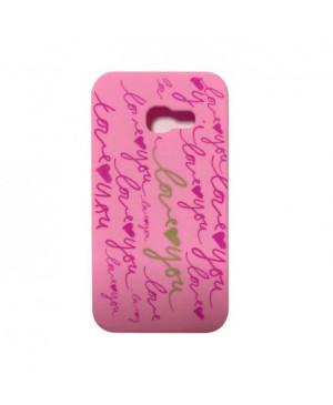 Silikonové puzdro Love pre Apple iPhone 6/6s ružové