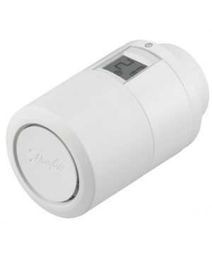Inteligentná radiátorová termostatická hlavica Danfoss Eco™ Bluetooth biela