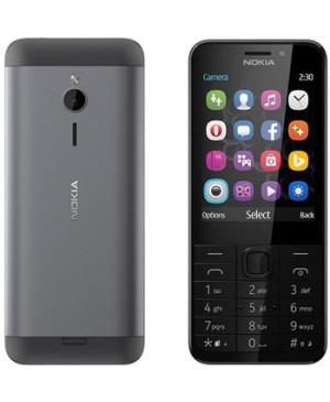 Nokia 230, Dual SIM, Dark Silver - SK distribúcia