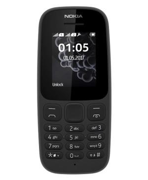 Nokia 105, Dual SIM, Black - SK distribúcia
