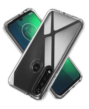 Silikónové puzdro pre Motorola Moto G8 Power transparentné