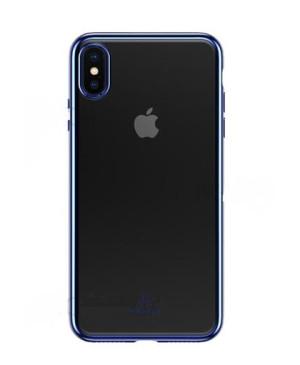 USAMS Kingdom TPU Zadní Kryt Blue pro iPhone XS Max