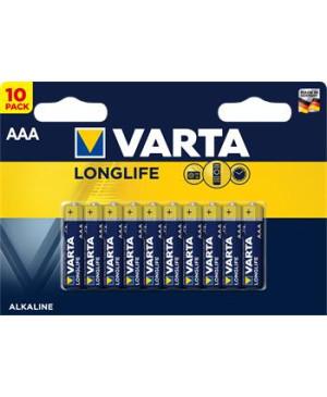 Varta Longlife AAA Baterie 10ks (EU Blister)