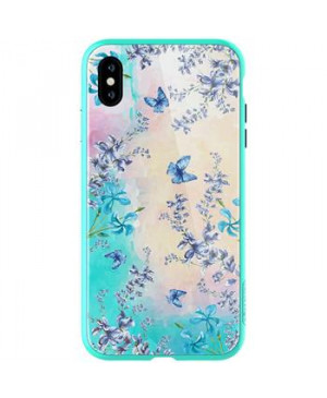 Nillkin Blosssom Hard Case Green pro iPhone XS Max