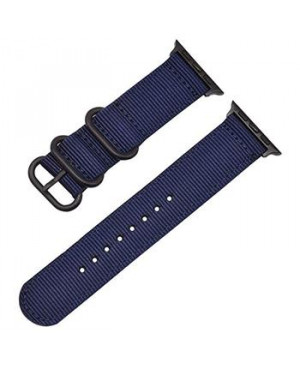 Handodo Nylon Pásek pro iWatch 1/2/3 42mm Blue (EU Blister)