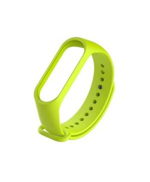 Handodo Silikonový Pásek pro Xiaomi Mi Band 3/4 Lime green (EU Blister)