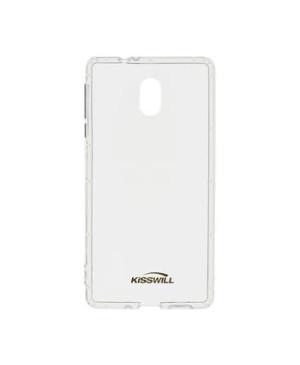 Kisswill silikónové puzdro na Samsung Galaxy A41 transparentné