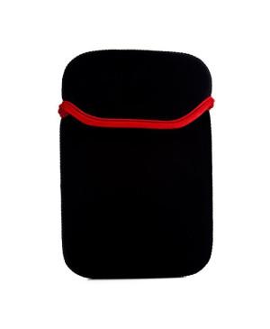 """Neoprénové puzdro pre tablet 7"""" čierno-červené"""