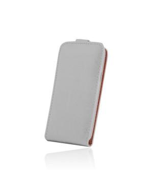 Kožené diárové puzdro PLUS New pre LG K10 K420N biele