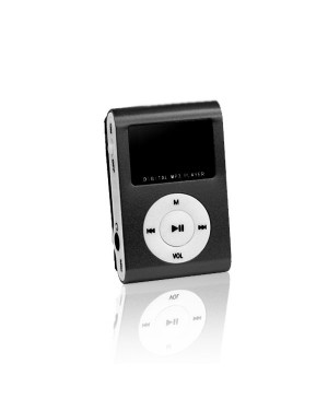 MP3 with LCD + earphones SETTY black