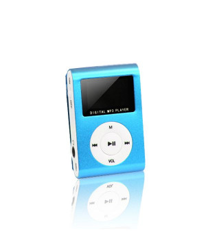 MP3 with LCD + earphones SETTY blue