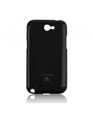 Silikónové puzdro Mercury Jelly pre Apple iPhone 6/6s Plus čierne