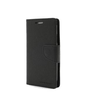 Diárové puzdro Mercury Fancy Samsung A7 čierne-čierne