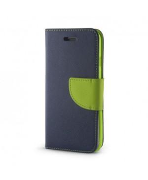 Diárové puzdro Smart Fancy pre Samsung Galaxy S7 G930 modro zelené