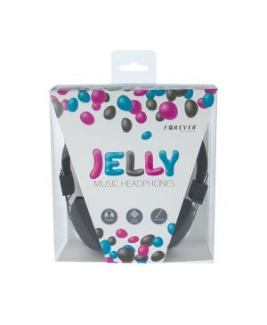 Slúchadlá Jelly čierne