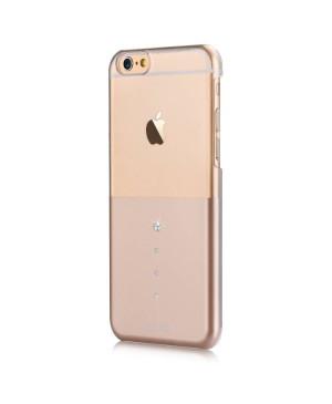 Silikónové puzdro DEVIA Unique pre Apple iPhone 6/6s zlaté
