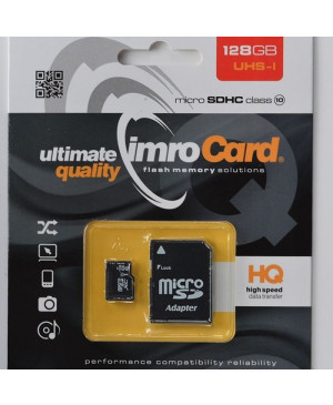 Pamätová karta Imro microSD 128GB s adaptérom
